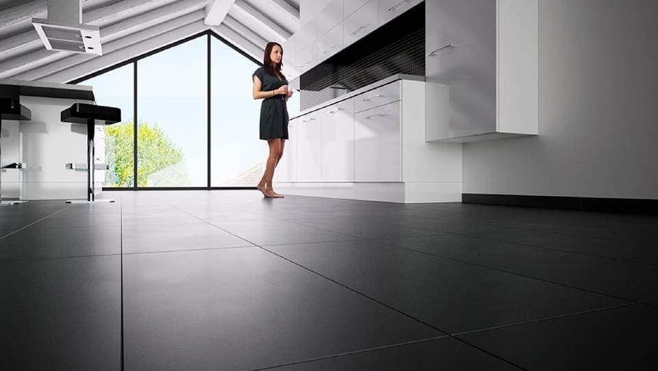 Die elektrische Fußbodenheizung eignet sich für Holzboden-Konstruktionen und andere kritische Untergründe.